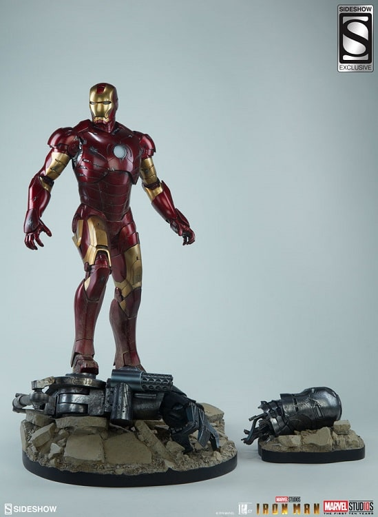 Iron Man Mark III 3 Maquette Exclusive Edition - SIDESHOW COLLECTIBLES