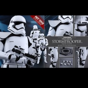 FIRST ORDER STORMTROOPER SQUAD LEADER 1/6TH SCALE FIGURE MMS316 - STAR WARS: THE FORCE AWAKENS - HOT TOYS
