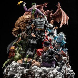 Batman Sanity David Finch - Full Color Statue - XM STUDIOS