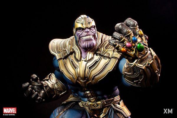 Thanos (Stand-alone) 1/4 Scale Premium Collectibles series statue - XM STUDIOS