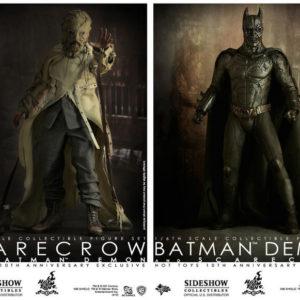 BATMAN DEMON & SCARECROW Exclusive Set 1/6TH SCALE FIGURE MMS140 - BATMAN BEGINS - HOT TOYS