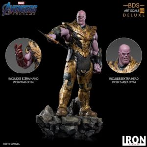 Thanos Black Order Deluxe BDS Art Scale 1/10 – Avengers: Endgame - IRON STUDIOS