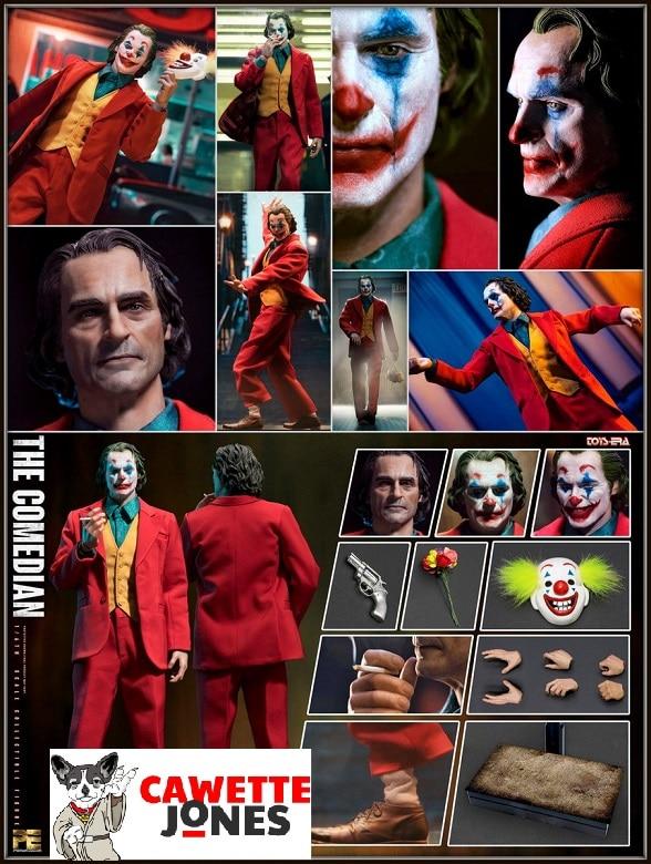 Joker Joaquin Phoenix 1/6TH SCALE FIGURE PE004 - The Comedian - Toys Era