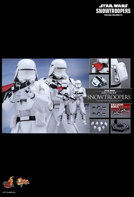 FIRST ORDER SNOWTROOPERS 1/6TH SCALE FIGURE MMS323 - STAR WARS: THE FORCE AWAKENS - HOT TOYS