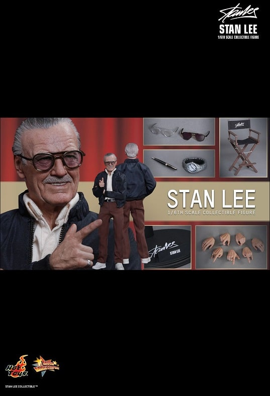 STAN LEE 1/6TH SCALE FIGURE MMS327 - HOT TOYS