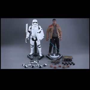 FINN AND FIRST ORDER RIOT CONTROL STORMTROOPER 1/6TH SCALE FIGURE MMS346 - STAR WARS: THE FORCE AWAKENS - HOT TOYS