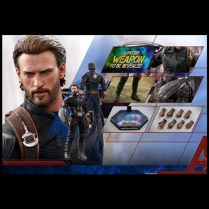 CAPTAIN AMERICA 1/6TH SCALE FIGURE MMS480 - AVENGERS: INFINITY WAR- HOT TOYS