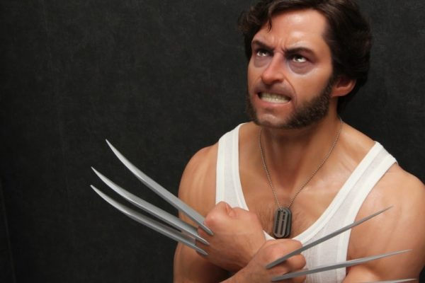 LOGAN WOLVERINE Life size Bust Fan Made - X Men - Andy Wright