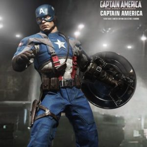CAPTAIN AMERICA 1/6TH SCALE FIGURE MMS156 - CAPTAIN AMERICA: THE FIRST AVENGER - HOT TOYS