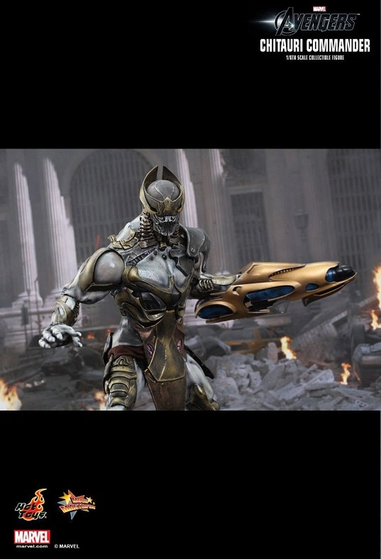 CHITAURI COMMANDER 1/6TH SCALE FIGURE MMS227 - THE AVENGERS - HOT TOYS