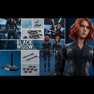 BLACK WIDOW 1/6TH SCALE MMS288 - AVENGERS: AGE OF ULTRON - HOT TOYS