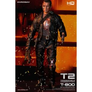 T-800 BATTLE DAMAGED EDITION 1/4 HD-1013 Masterpiece Series - T2 TERMINATOR 2 JUDGMENT DAY - ENTERBAY